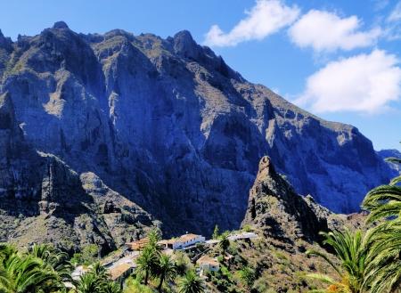 spanish village: Masca(Teno Mountains), Tenerife, Canary Islands, Spain