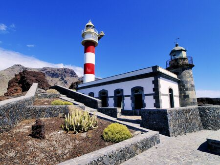 Lighthouse in Punta Teno, Tenerife, Canary Islands, Spain Stock Photo - 16582098