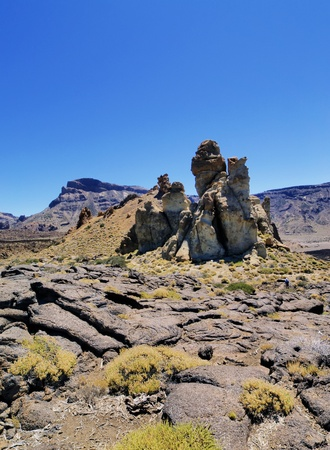 Teide National Park(Garcia Rocks), Tenerife, Canary Islands, Spain photo