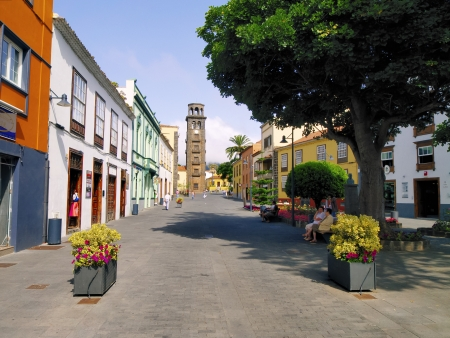 San Cristobal de la Laguna, Tenerife, Canary Islands 新聞圖片