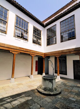 Colonial House Yard, San Cristobal de la Laguna, Tenerife
