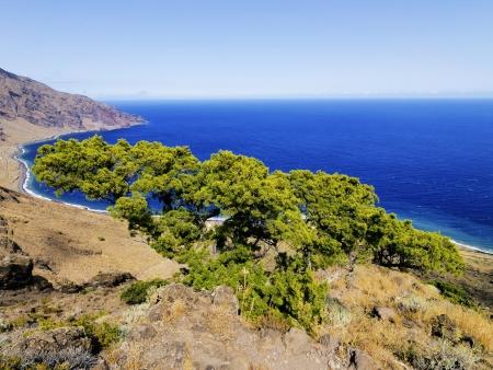 canary islands: Las Playas, Hierro, Canary Islands Stock Photo