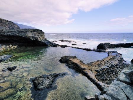 azul: Charco Azul, Hierro, Canary Islands
