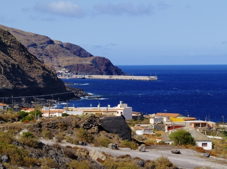 Puerto de la Estaca, El Hierro, Canary Islands 版權商用圖片
