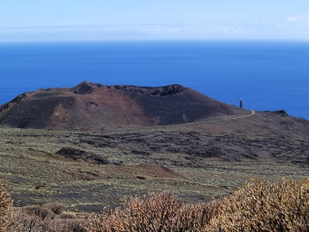 Volcanic Landscape, Hierro, Canary Islands photo