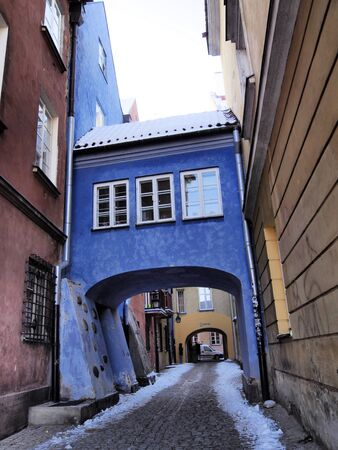 Blue Gate in Warsaw, Poland.