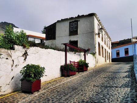 vallehermoso: Agulo, La Gomera, Canary Islands, Spain