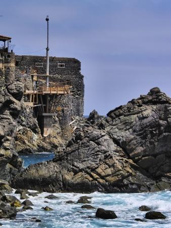 vallehermoso: Castel del Mar Sea Castel , La Gomera, Canary Islands, Spain