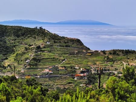 la: Vallehermoso, La Gomera, Kanarische Inseln, Spanien Lizenzfreie Bilder