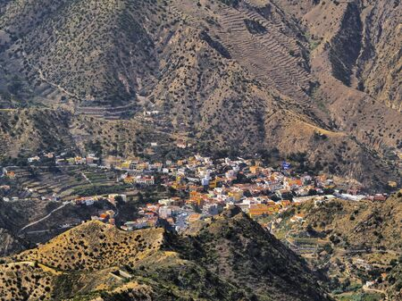 vallehermoso: Vallehermoso, La Gomera, Canary Islands, Spain
