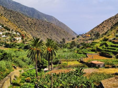 Vallehermoso, La Gomera, Kanarische Inseln, Spanien Standard-Bild - 17880833