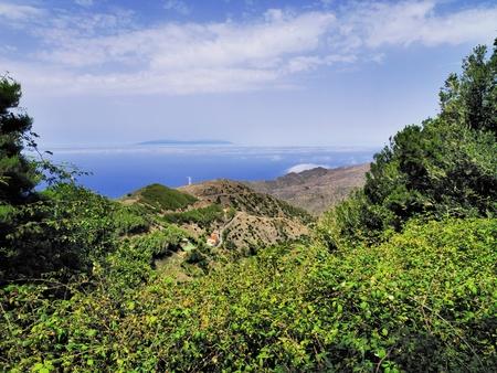 vallehermoso: Alojera, La Gomera, Canary Islands, Spain