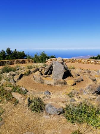 vallehermoso: View from Alto de Garajonay, La Gomera, Canary Islands, Spain