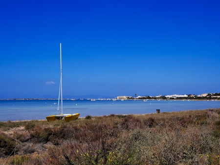 Estany des Peix, Formentera, Balearic Islands, Spain photo