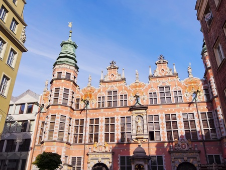 arsenal: Wielka Zbrojownia - Big Armory, building of an old arsenal in Gdansk, Poland