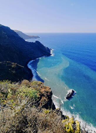 Coastline of the northern La Palma, Canary Islands, Spain photo