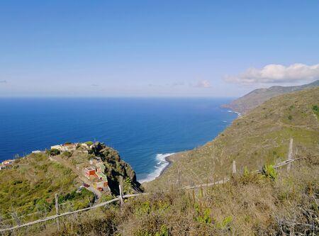 northern spain: Coastline of the northern La Palma, Canary Islands, Spain