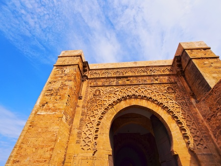 bab: Gate in Rabat - capital city of Morocco, Africa