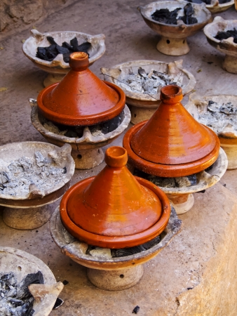 Tagine - traditional Berber dish from Morocco, Africa