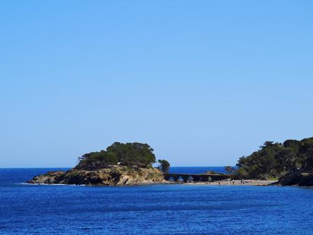 Landscape of Costa Brava on the Cap de Creus near Cadaques, Catalonia, Spain photo