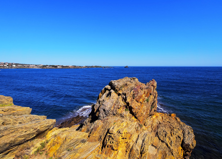Landscape of Costa Brava on the Cap de Creus, Catalonia, Spain photo