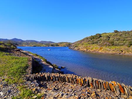 Beautiful landscape of Portlligat - village of Salvador Dali on Cap de Creus peninsula, Catalonia, Spain photo