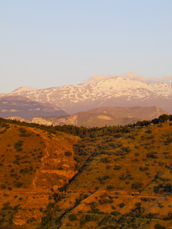 Sierra Nevada near Granada - city in Andalusia, Spain Stock Photo - 23110089