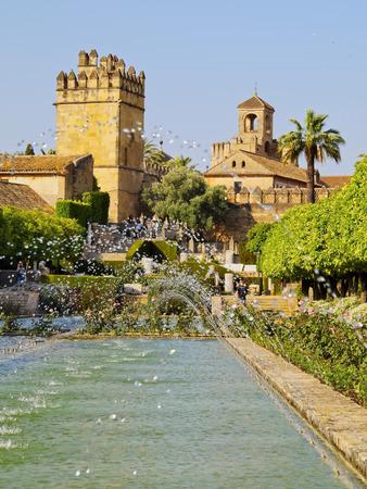 Alcazar de los Reyes Cristianos in Cordoba, Andalusia, Spain