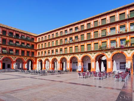 Plaza de la Corredera - Corredera Square in Cordoba, Andalusia, Spain 写真素材