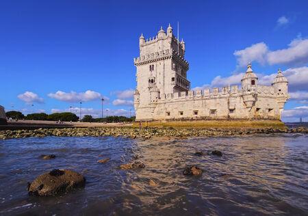Tower of St Vincent in Belem, Lisbon, Portugal