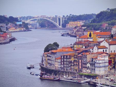 Rio Douro - Douro River in Porto, Portugal
