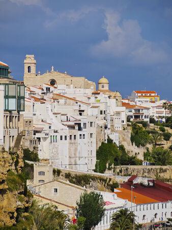 Sant Francesc Church and Monastery in Mao on Menorca, Balearic Islands, Spain photo
