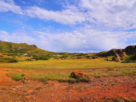 Rural Landscape of Northern Menorca, Balearic Islands, Spain photo