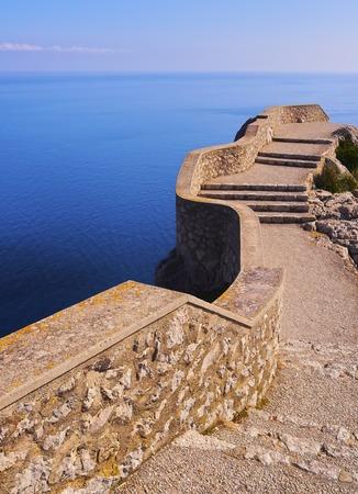 Landscape of Cap de Formentor on Mallorca, Balearic Islands, Spain photo