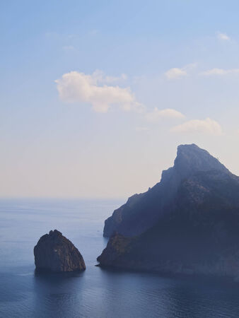 Landscape of Cap de Formentor on Mallorca, Balearic Islands, Spain photo