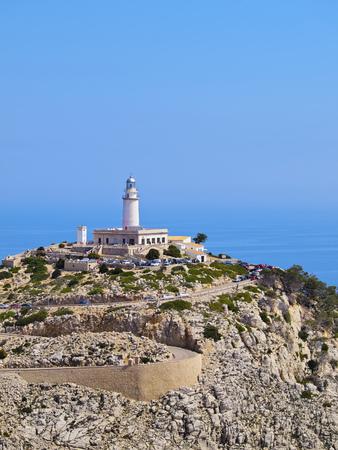 Lighthouse on Cap de Formentor on Mallorca, Balearic Islands, Spain photo