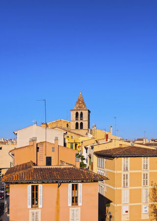 Skyline of Palma de Mallorca, Balearic Islands, Spain photo