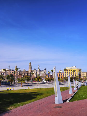 moll: Moll dEspanya in Barcelona in Catalonia, Spain Editorial