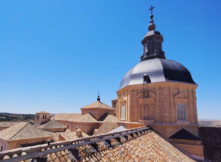 Spain, Castile La Mancha, Toledo, View of the San Ildefonso Church.