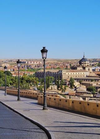 mancha: Spain, Castile La Mancha, Toledo, View towards the Hospital of Tavera.