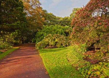 botanic: UK, Scotland, Lothian, Edinburgh, View of the Royal Botanic Gardens.