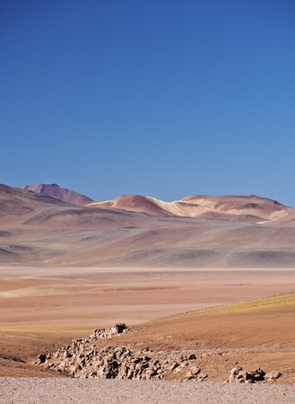 Bolivia, Potosi Departmant, Sur Lipez Province, Landscape of the Eduardo Avaroa Andean Fauna National Reserve.