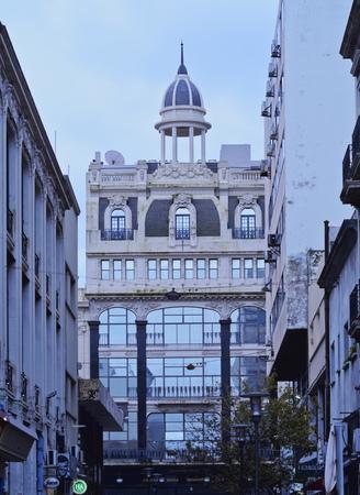 Uruguay, Montevideo, Ciudad Vieja, Vista dell'edificio Pablo Ferrando.