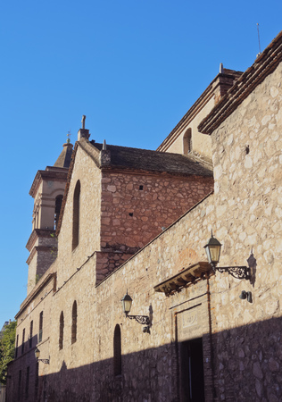 Argentina, Cordoba, Manzana Jesuitica(Jesuit Block), View of the Society Church.