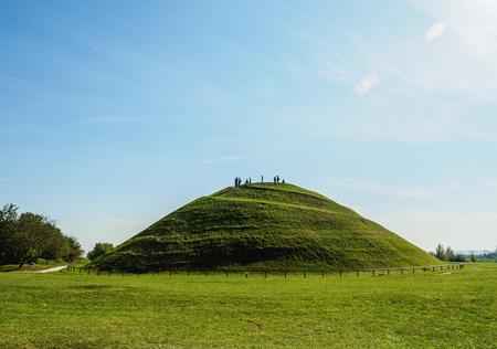 Poland, Lesser Poland Voivodeship, Cracow, Podgorze District, Krakus Mound