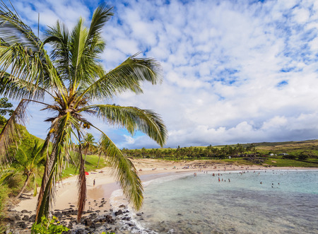 Anakena Beach, Easter Island, Chile