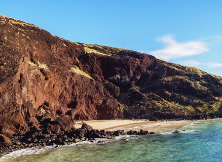 rapanui: Ovahe Beach, Easter Island, Chile
