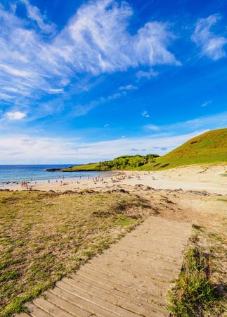 Anakena Beach, Easter Island, Chile