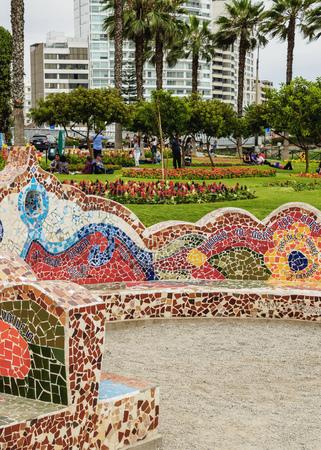 Parque del Amor, Lovers Park, Miraflores District, Lima, Peru