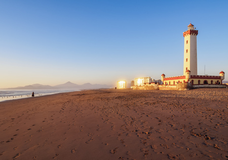Lighthouse in La Serena, Coquimbo Region, Chile